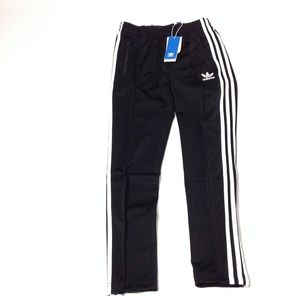 New Adidas Brand with 3 Stripes Men's Pants Black